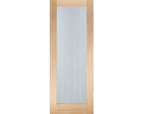 Mexicano Oak Pattern 10 - Clear Glass Internal Doors