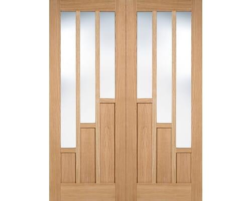 Coventry Oak Pair Internal Doors