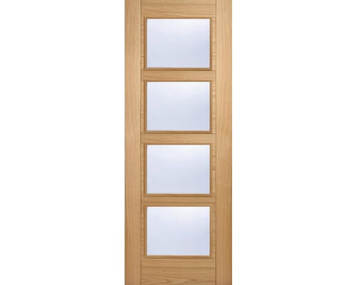 Vancouver Oak 4l - Clear Prefinished Internal Doors