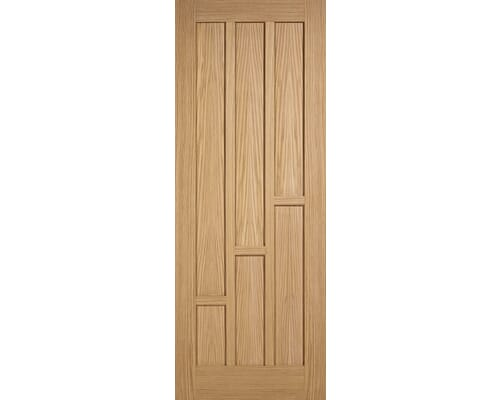 Coventry Oak 6 Panel - Pre-finished Fire Door