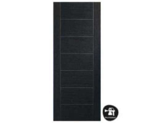 Palermo Dark Grey - Prefinished Internal Doors