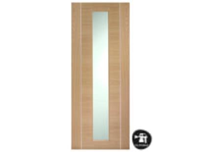 Forli Oak Glazed Door - Prefinished Image
