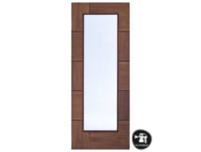 Ravenna Walnut Glazed  Door - Prefinished Image