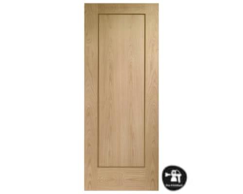 Oak Shaker 1 Panel - Prefinished Internal Doors
