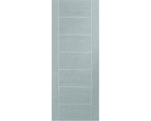 Palermo Light Grey - Pre-finished Fire Door