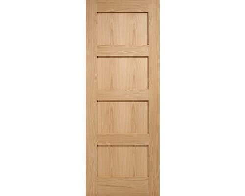 Shaker 4 Panel - Prefinished Internal Doors