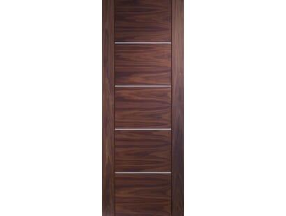 Portici Walnut Door - Prefinished Image