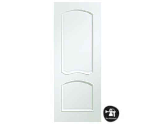 Louis White - Prefinished Internal Doors