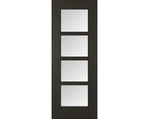 Vancouver Smoked Oak Glazed Internal Doors