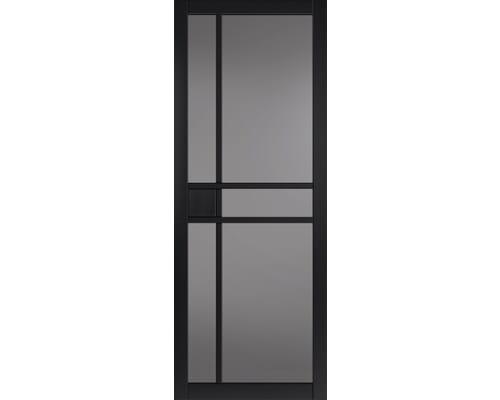 City Black Tinted Glazed Internal Doors