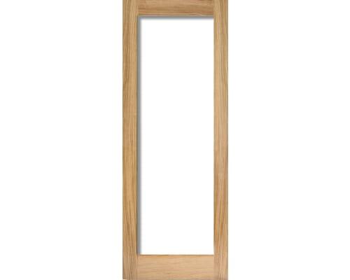 Oak Shaker 1 Light - Clear Internal Doors