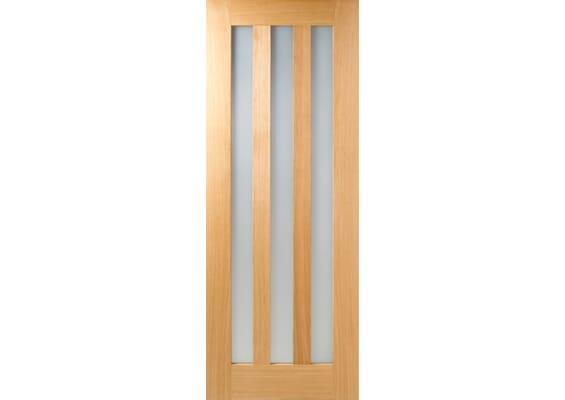 Aston - Clear Glass Oak Internal Doors
