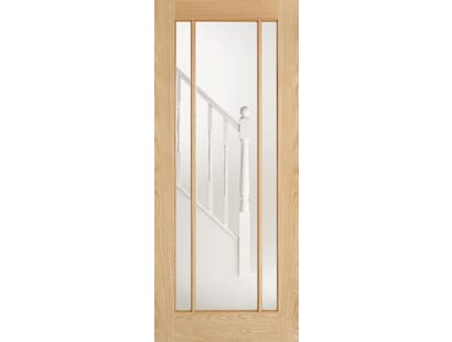 Lincoln Glazed Oak Door Image