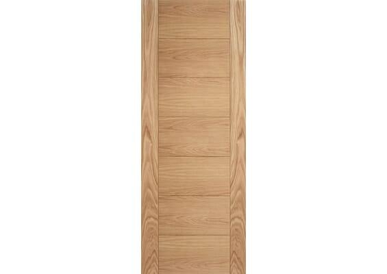 Modern 7P Oak - Prefinished Doors