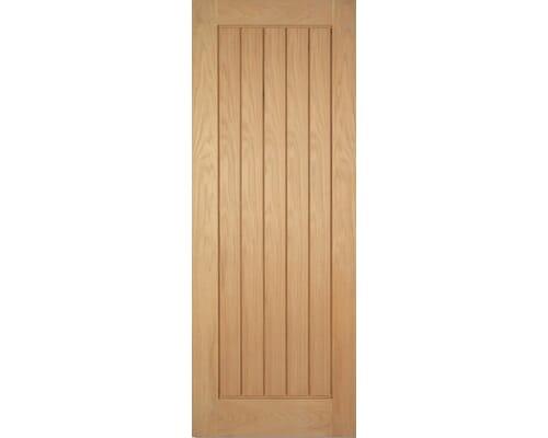 Mexicano Oak Pre-finished Fire Door