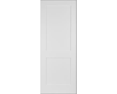 Modern White Shaker 2 Panel Internal Doors