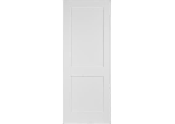 Modern White Shaker 2 Panel Doors