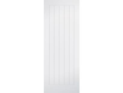 Mexicano White Primed Doors Image