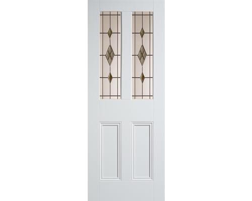Malton White Smoked Abe-lead Internal Doors