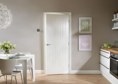 White Suffolk Internal Doors