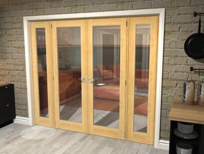 Pattern 10 Oak Unfinished Room Divider Range Image