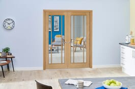 Lincoln Oak Internal French Doors Image