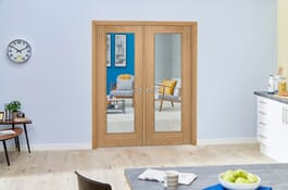 Vancouver P10 Prefinished Internal French Doors Image