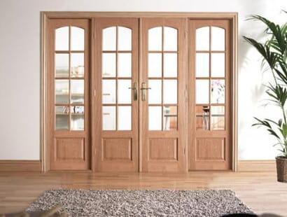 Traditional Oak Room Divider Range Image