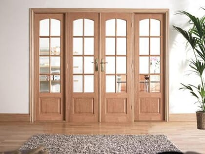 Traditional Oak Room Divider Range
