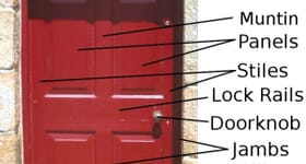 What Are the Parts of a Door Jamb?