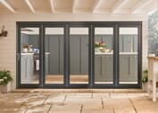 Bedgebury Anthracite Grey Hardwood Bifold Doors Image