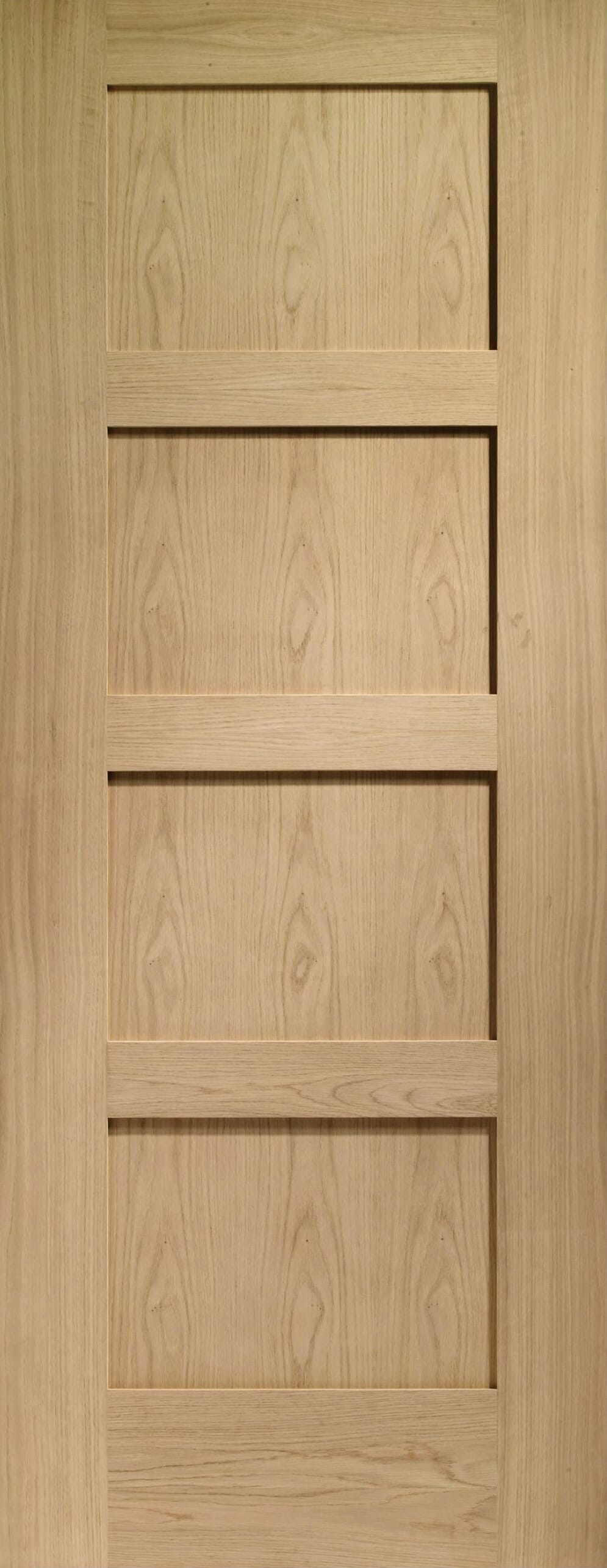 Oak Shaker 4 Panel - Prefinished Image