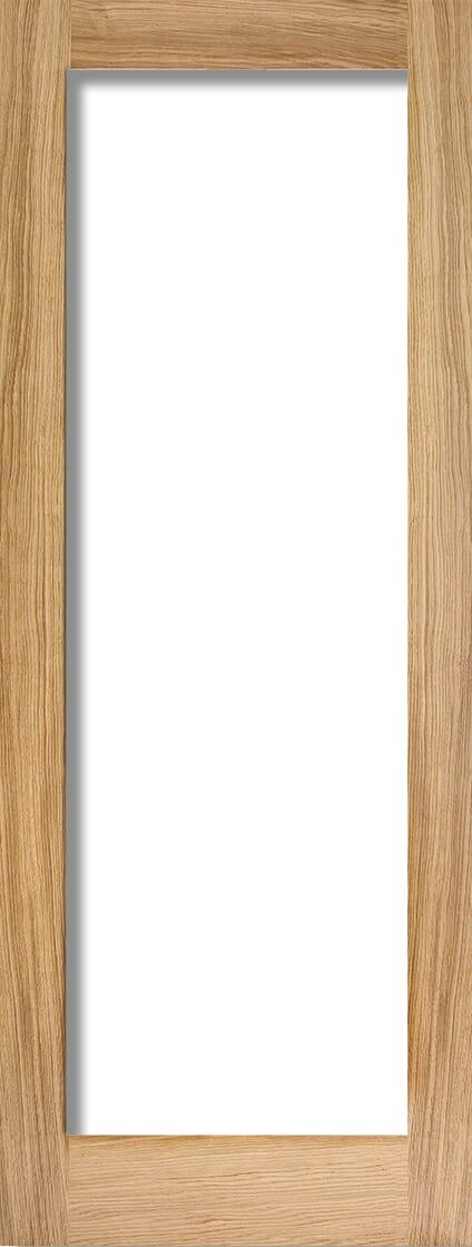 Oak Shaker 1 Light - Clear Image