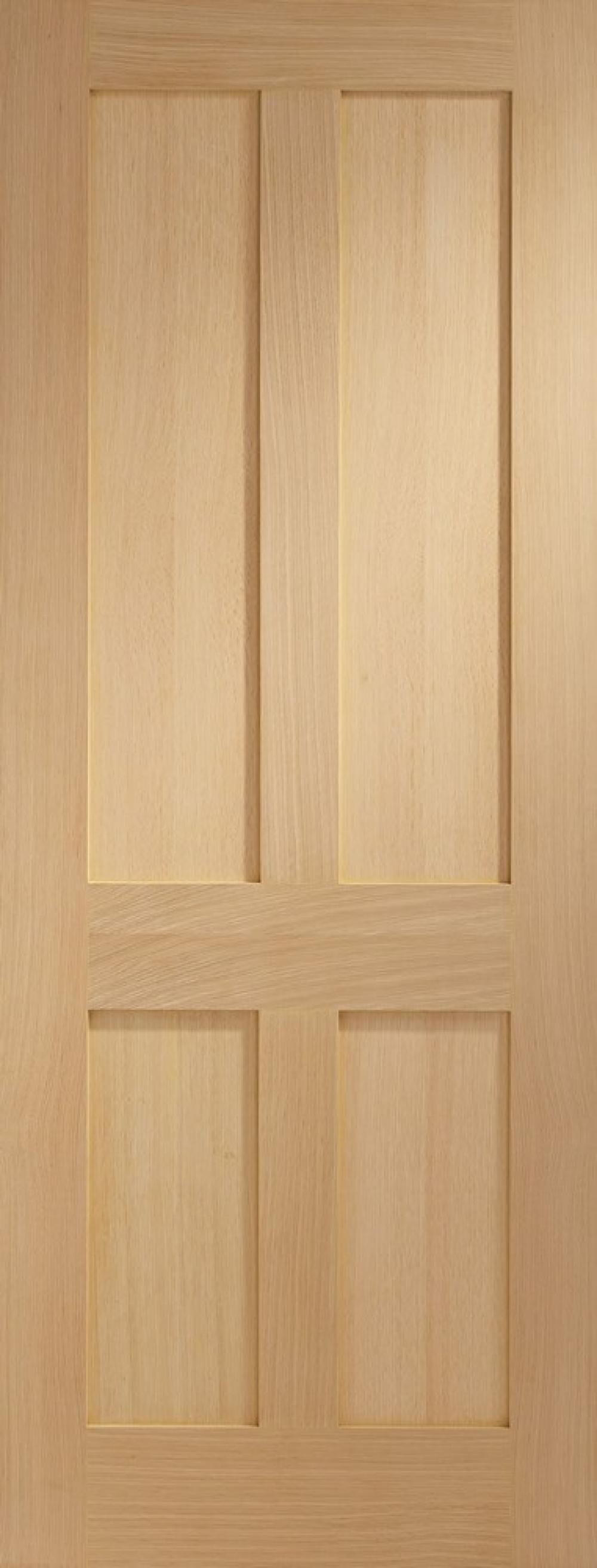 Oak Victorian 4 Panel Shaker Image