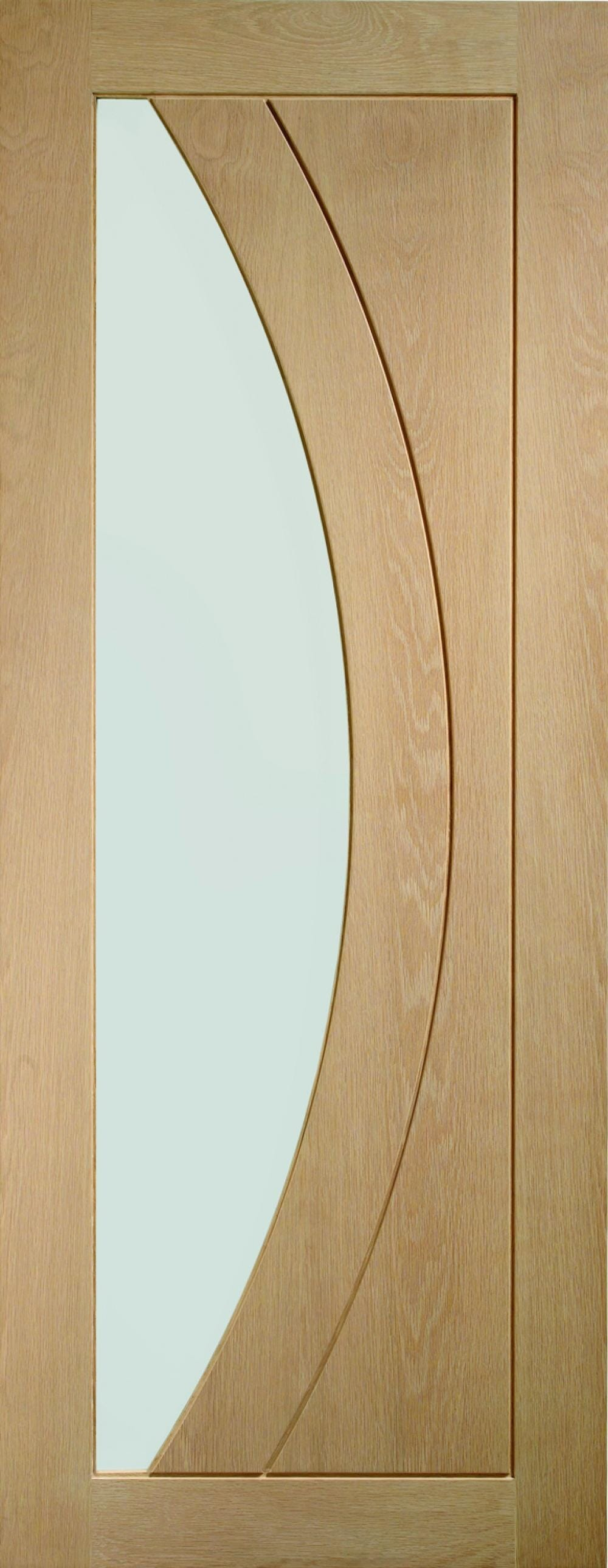 Salerno Oak - Clear Glass Image