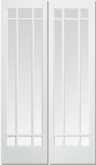 Manhattan White Glazed Pair Image