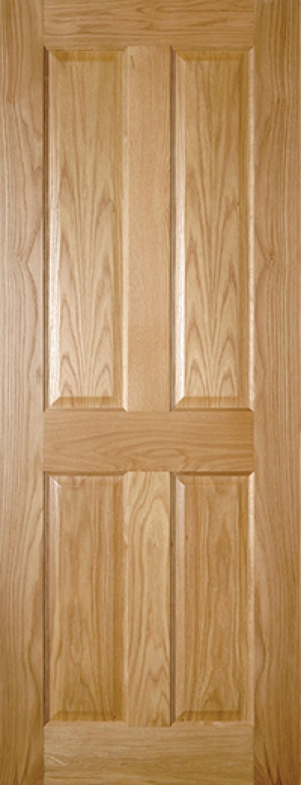 Bury 4 Panel Oak - Prefinished Image