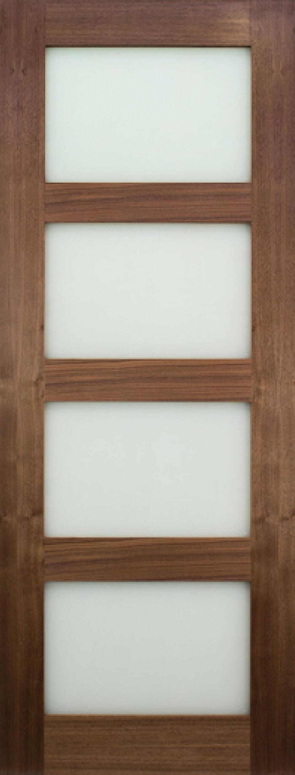 Coventry Walnut Glazed - Frosted Prefinished Image