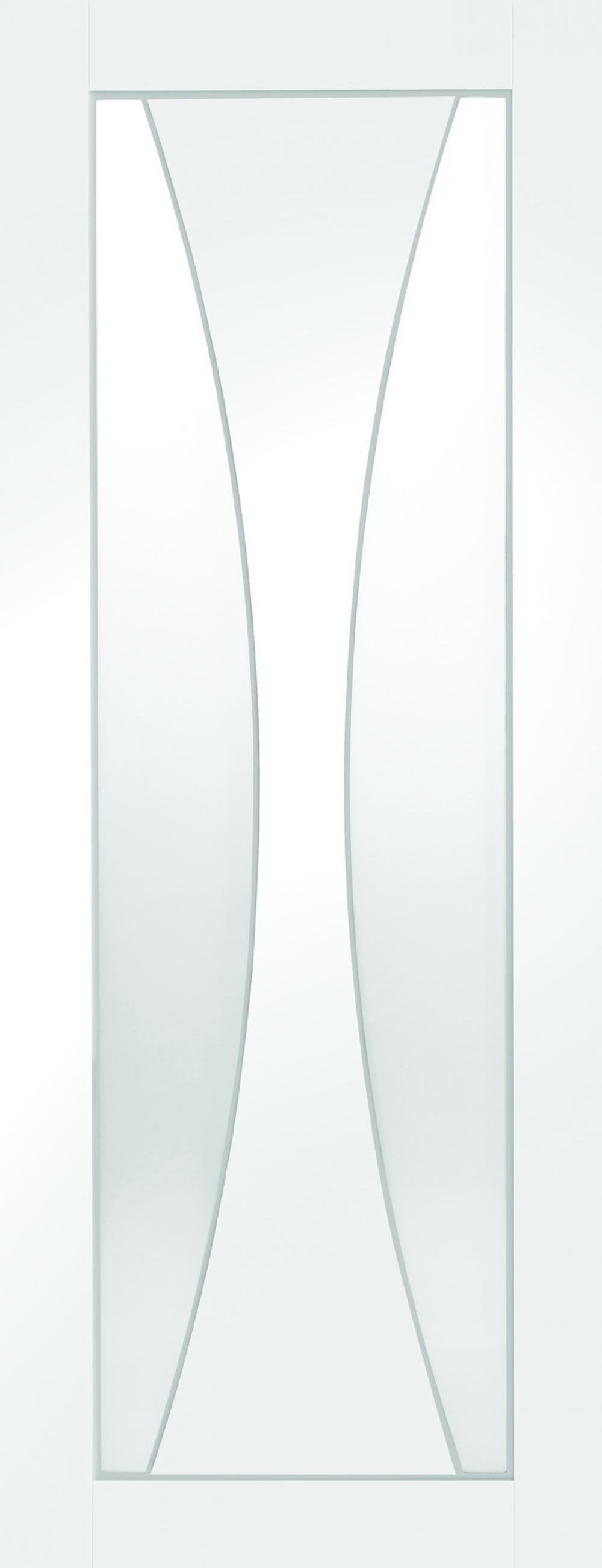 Verona White -  Clear Glass Image