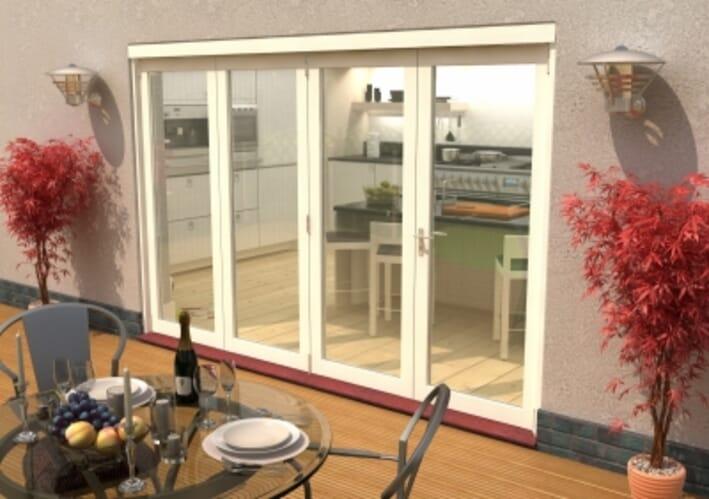 External Bi Fold Doors Folding Sliding Glass Patio Doors