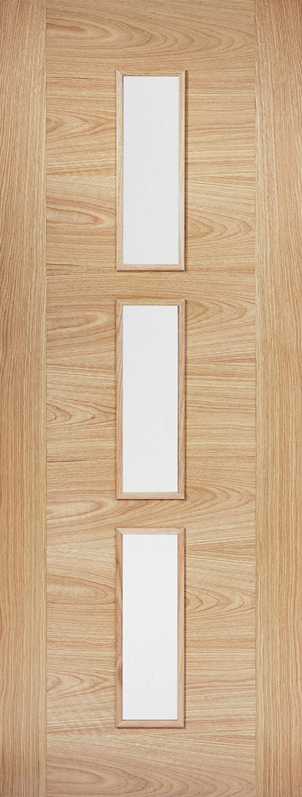 Sofia Oak 3l - Clear Glass Prefinished Image