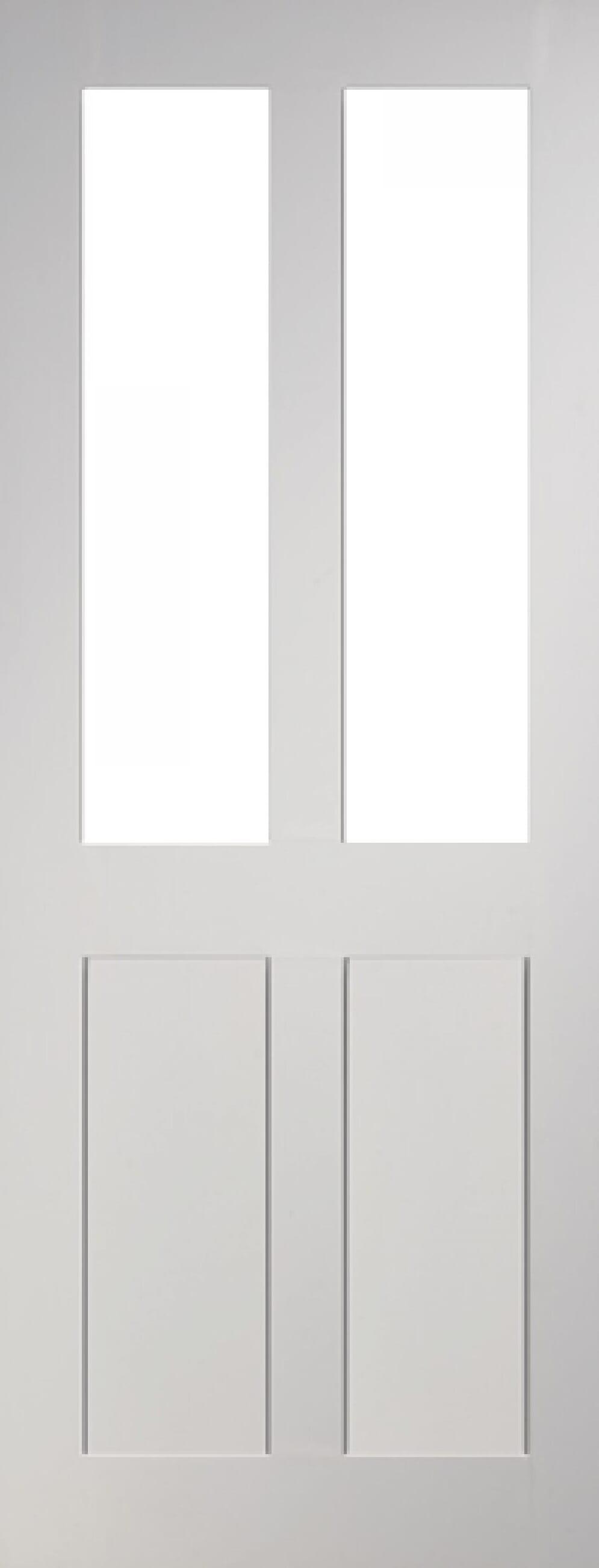 Eton Glazed 4 Panel White Image
