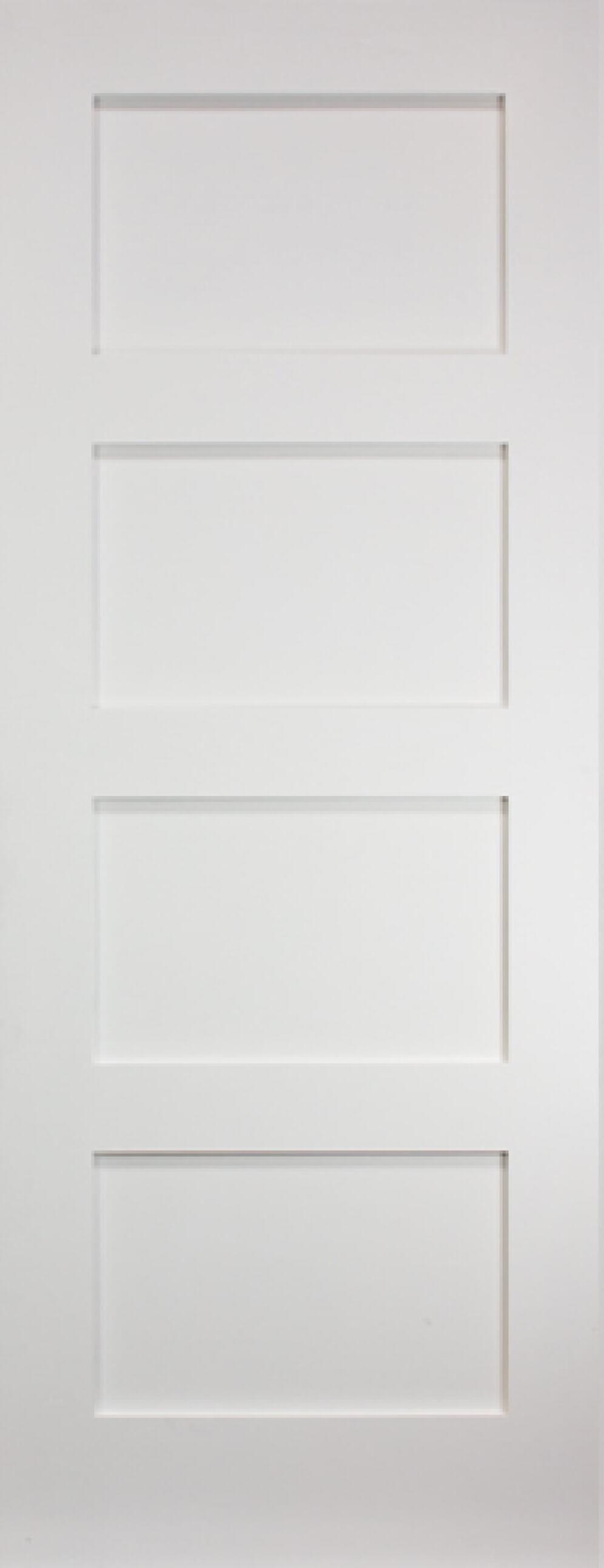 Coventry White 4 Panel Shaker Image