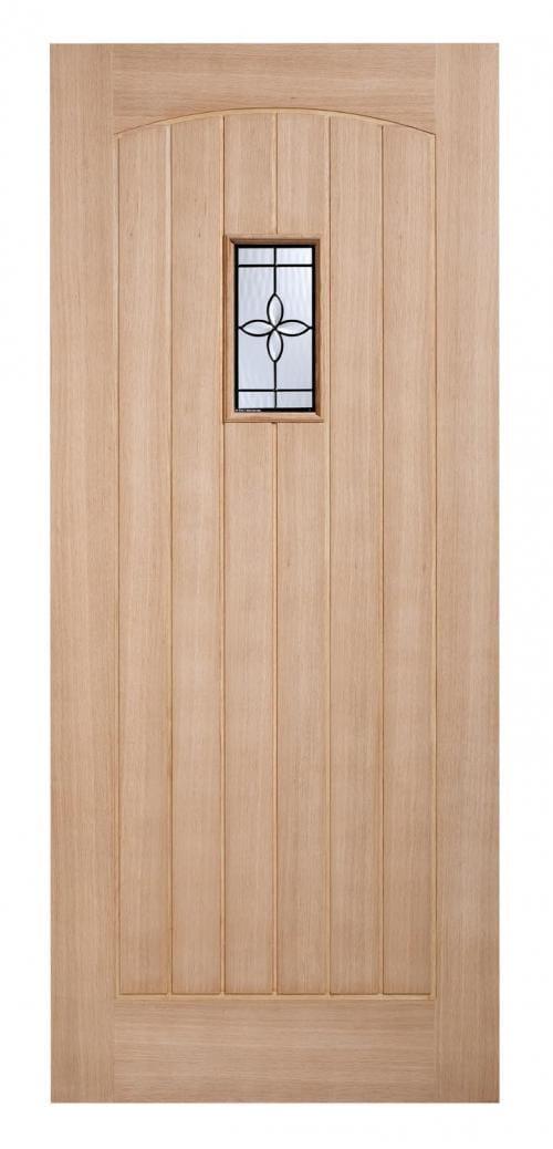 Chesham Oak Part L Warmer Door Image