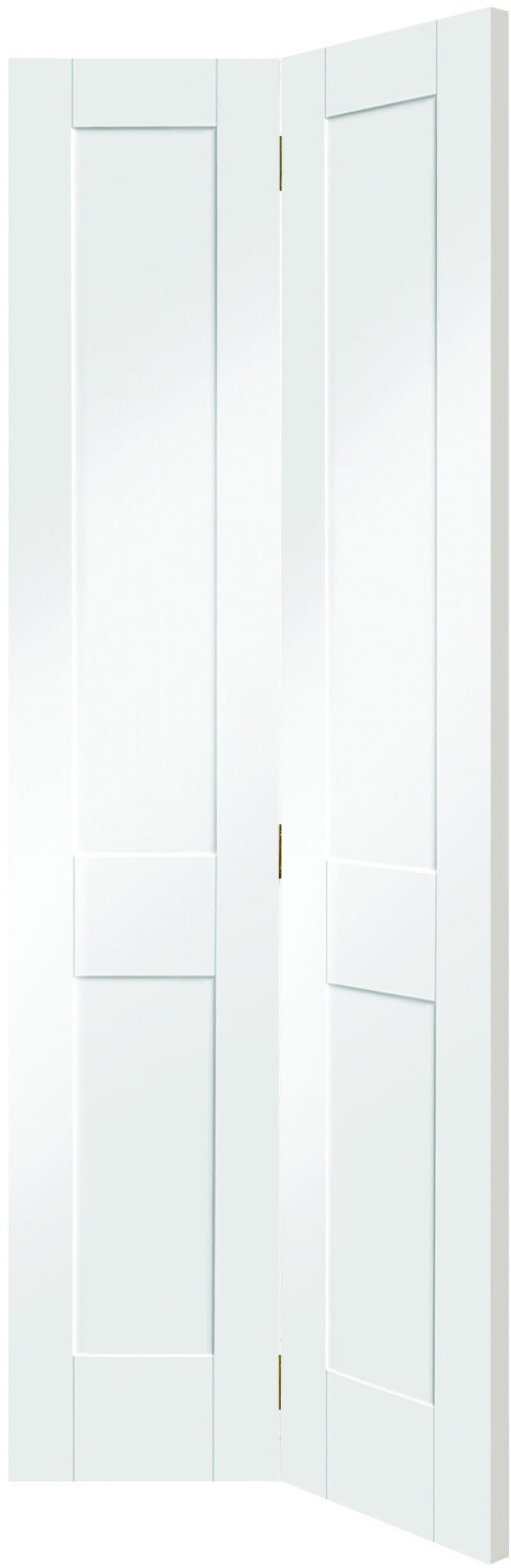 Victorian Shaker White Bi-fold Image