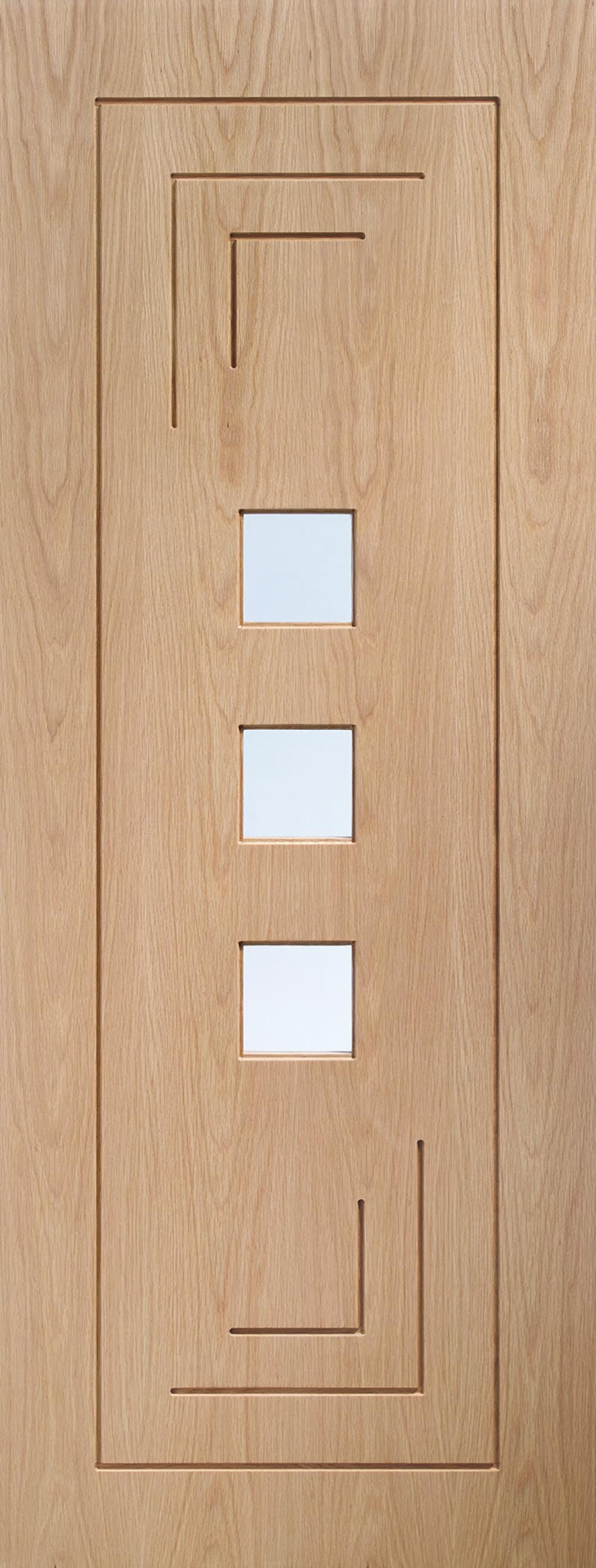 Altino Oak - Prefinished Clear Glass Image