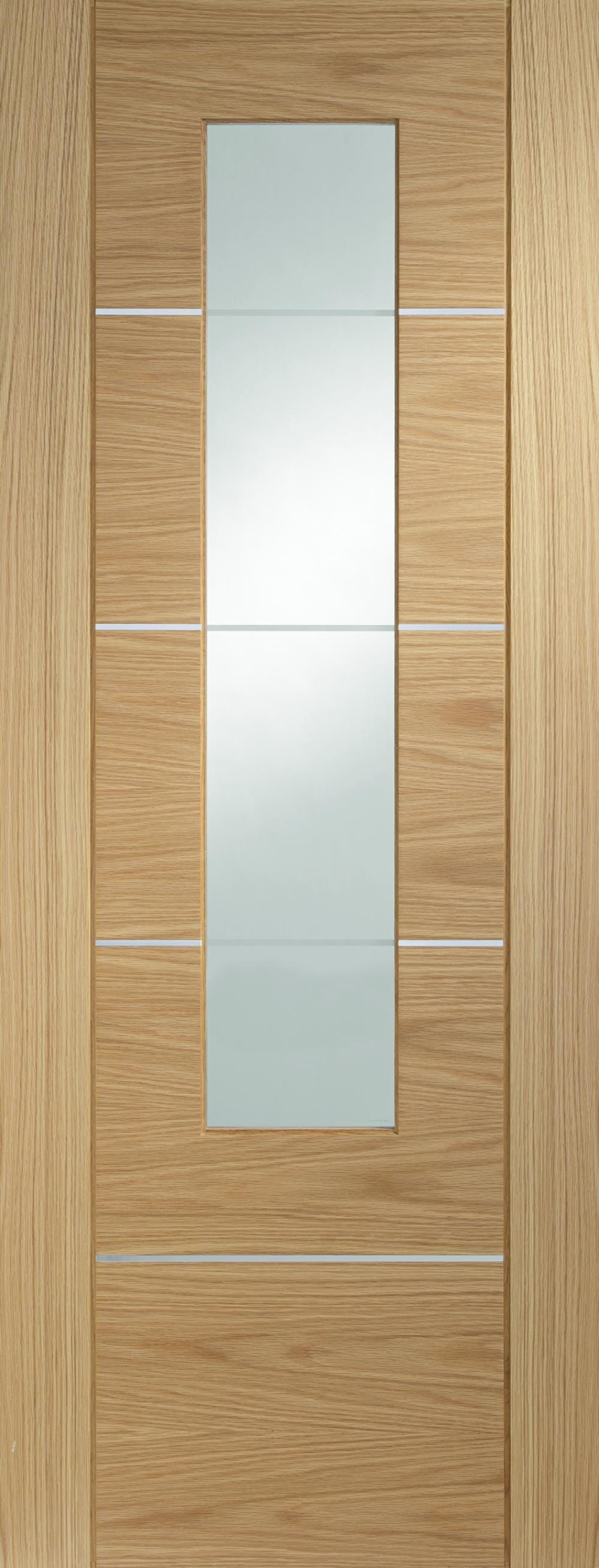 Portici Oak - Prefinished Clear Glass Image