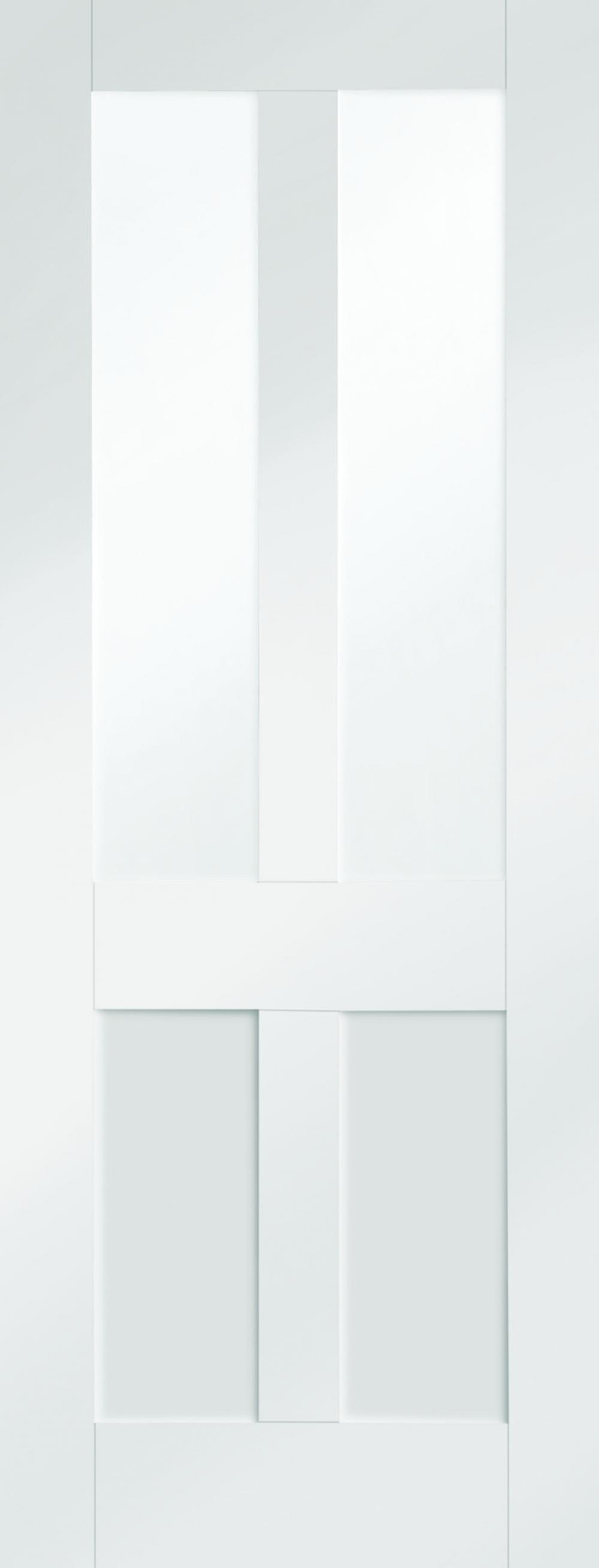 Malton Shaker White - Clear Glass Image