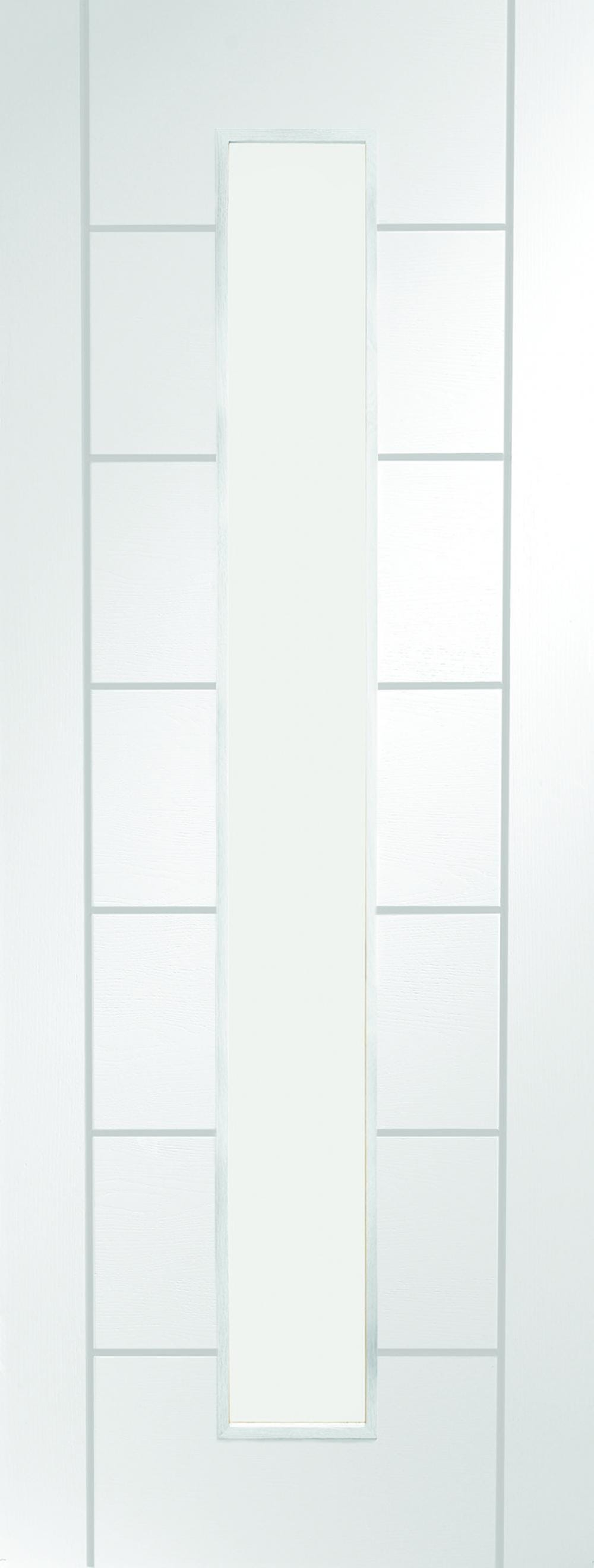 Palermo White 1 Light - Clear Glass Image