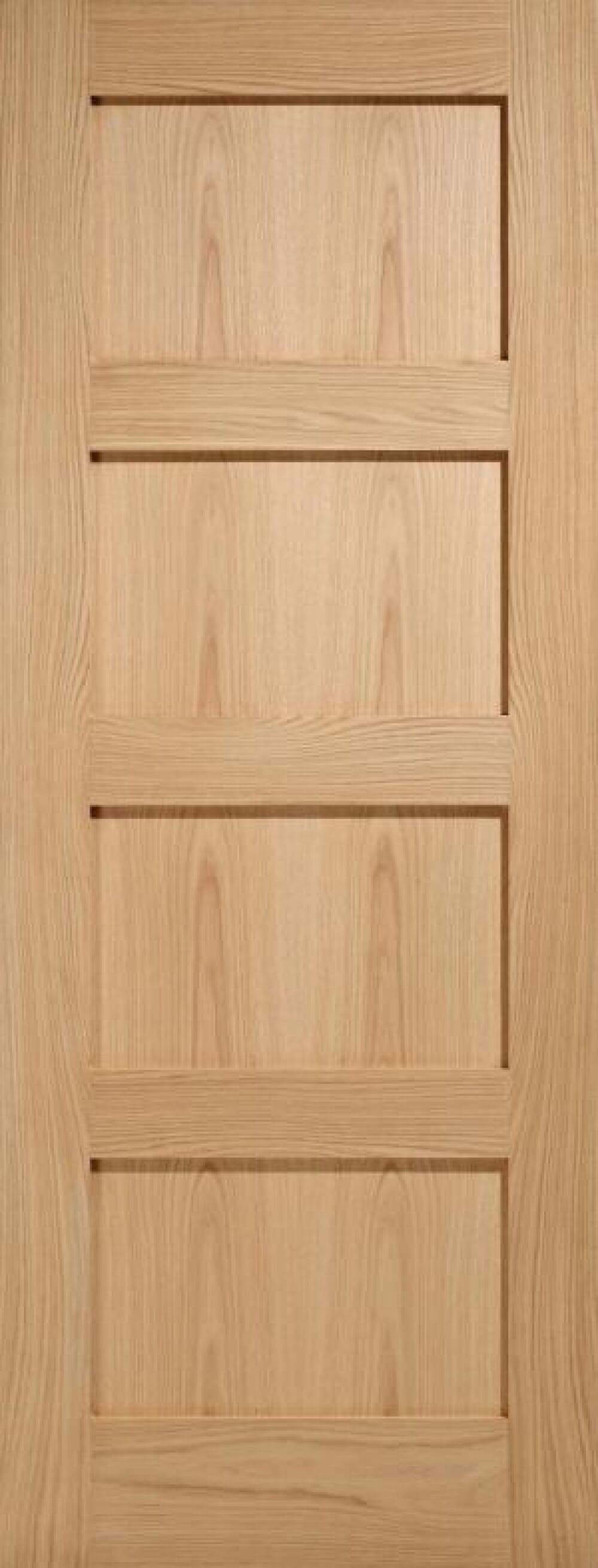 Oak Shaker 4p - Prefinished Image